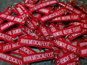 Portachiavi Personalizzati Ricamati Medical Fly