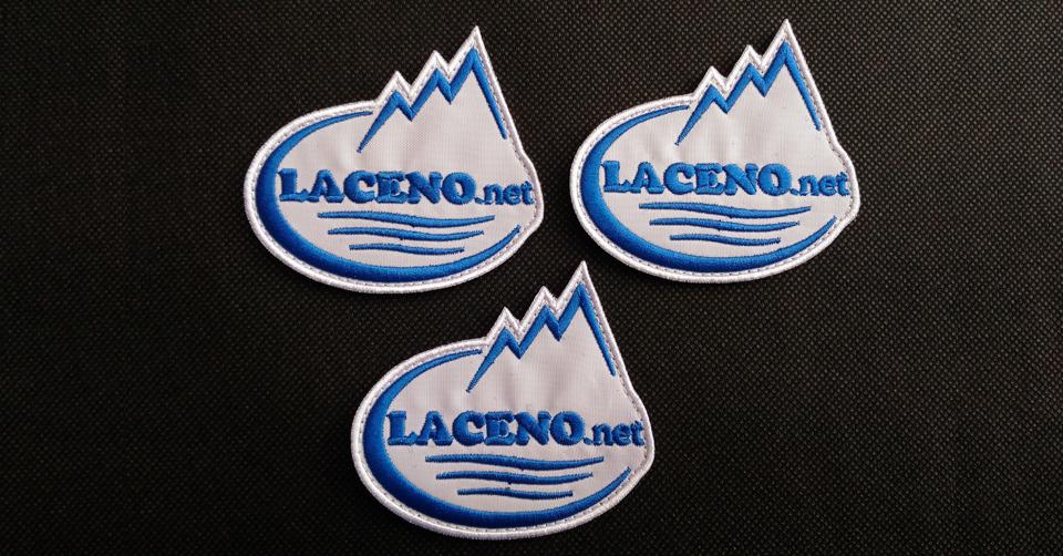 Patch ufficiale Laceno.net – 3 pezzi