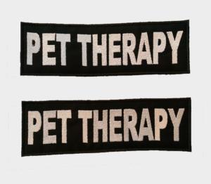 Patch Toppa Pet Therapy personalizzata per pettorina julius k9