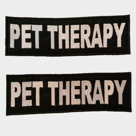 Patch Toppa Pet Therapy personalizzata per pettorina julius k9