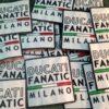Toppe Patch ricamate personalizzate - Ducati Fanatic Milano