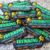 Portachiavi Personalizzati Ricamati Trekking Campania