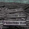 Toppe Patch ricamate personalizzate - Predators Team