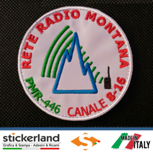 Toppe Patch Rete Radio Montana