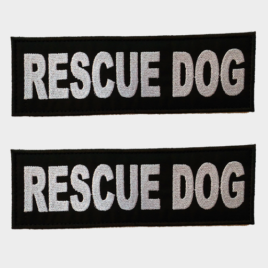 Patch Toppa Rescue Dog personalizzata per pettorina julius k9