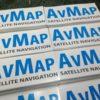 Adesivi Stampati in digitale e protetti per l'esterno AVMAP