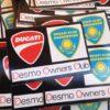 Adesivi stampati e protetti uv Ducati Fanatic Milano Kazakhstan
