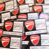 Adesivi stampati e protetti uv Ducati Fanatic Milano Owner Club