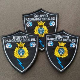 Patch ufficiale del Gruppo Radioamatori Guardie Particolari Giurate d'Italia
