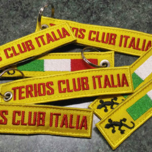 Portachiavi Ricamati personalizzati - Terios Club Italia