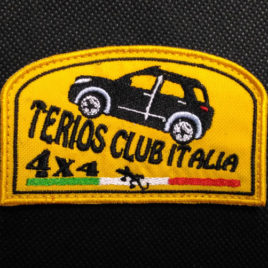 Patch ufficiale del Terios Club Italia