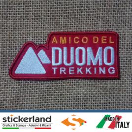 Toppa Patch personalizzata Amico del Duomo Trekking